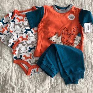 Other - Fox baby 3 piece set